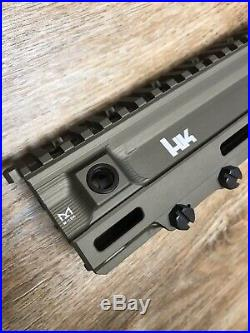 HK Geiselle 417 M110A1 RARE DDC CSASS Tanodized Heckler Koch