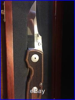 HK Heckler Koch 180/1000 Knife Rosewood Boker