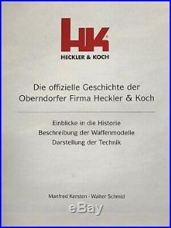 HK Heckler & Koch Official Hardcover Book Kersten Schmid German Language