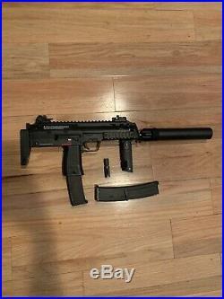 HK Mp7 Gas Blowback Airsoft Gun