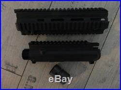 HK416 Quad Rail Handschutz kurz + Upper leer + V-Ring Heckler & Koch HK 416 G36