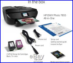 HP ENVY Photo 7855 Wireless All-In-One Instant Ink Ready Printer