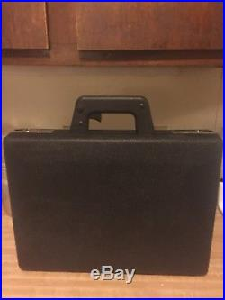 Heckler & Koch Authentic German Briefcase (RARE) made in West Germany in 1980s