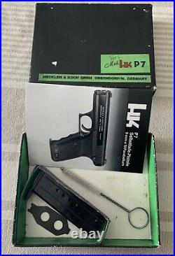 Heckler & Koch H&K HK P7 Complete Factory Pistol Cardboard Case