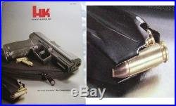 Heckler & Koch HK H&K Catalog (EXTREMELY RARE) Bullet in Backwards gun