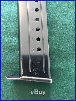 Heckler & Koch HK H&K / P7 PSP 8 Round 9mm Magazine IA Date Code