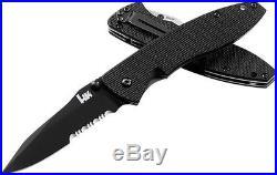 Heckler & Koch HK Knives 14460SBT Nitrous Blitz & Free Gerber Pocket Sharpener
