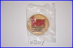 Heckler & Koch Hk Itd Rainbow 6 Operator Challenge Coin Mp5 Vp9 Usp P7m8 P30sk