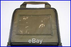 Heckler & Koch Hk Mark 23/usp Padded Case Od Green Match Elite Hk45 P7 Vp9 Vp40