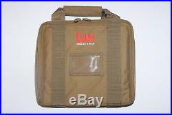 Heckler & Koch Hk Mark 23/usp Padded Case Tan Usp Match Elite Hk45 P7 Vp9 Vp40