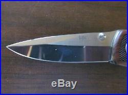 Heckler & Koch Knife Boker HK 200 LIMITED EDITION #584 H&K Mirror X15TN Rosewood