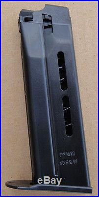 Heckler Koch P7m10.40 Caliber 10 Rd. Mags (2)