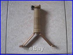Heckler & Koch Picatinny Sturmgriff mit Zweibein, RAL8000, HK416, HK417, G28