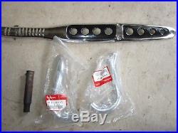 Honda CT70H K1 NOS CT70 Exhaust Pipe Muffler Shields Baffle NICE Trail 70 CT