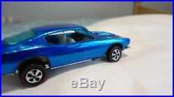 Hot Wheels Redline Barracuda H. K. Top Shelf Car All Original Mint Car Rare Opt