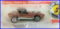 Hot Wheels Redline Copper / Dark H. K. Python blister pack, bp, awesome car