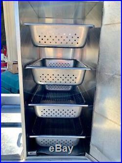 Hotdog Steamer Stand H & K International