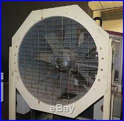Industrial Wind Tunnel Blower Fan 40 Diameter 10HP Motor H. K. PORTER 40 VA