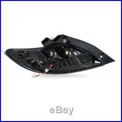 JDM Black 2011-2012 Mazda 2 LED Rear Brake Lamps Tail Lights Replacement L+H