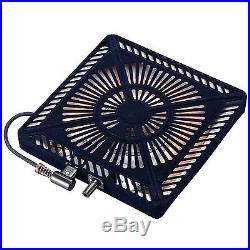 Japanese Kotatsu Heater MSU-501H(K) Low Style Table Foot Warmer 510W Japan NEW