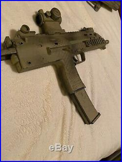 KWA Airsoft Gun LOT! M4, H&K MP7, & Mark II 1911! Navy Seal Airsoft Gear