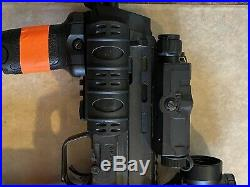 KWA H&K MP7 Airsoft Gas Blowback GBB, PTS FLASH & MOCK SUP SET, DUAL SIGHTS, ETC