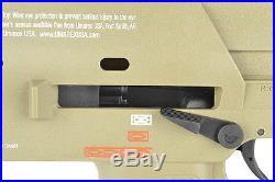 KWA Umarex 400 FPS Metal Green Gas Blowback GBB Auto Airsoft Gun SMG H&K MP7 FDE