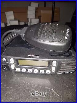 Kenwood NexEdge NX-800H-K High Powered 45Watt UHF Mobile Radio 450-512MHz