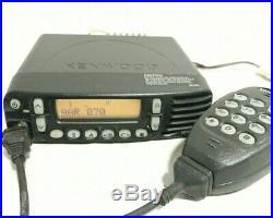 Kenwood TK-7180H-K VHF FM Transceiver DC 13.6V 13A TK-7180HK With KMC-36
