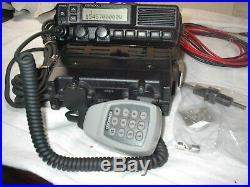 Kenwood TK5710H-K TK-5710 Ver 2 VHF 136-174 110 Watt 512ch P25 Mobile Radio DTMF