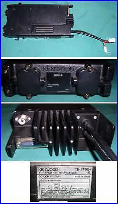 Kenwood Tk-5710h-k Two Way Mobile Radio Vhf P25 Transceiver