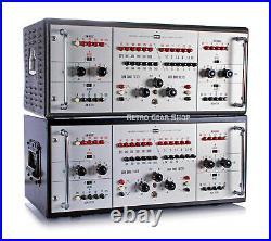 Klein & Hummel UE-100 Stereo Pair Serviced Program Equalizer Tube EQ K&H K+H