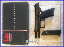 Kwa H&k Mk23 Ussocom Gas Blowback Airsoft Pistol