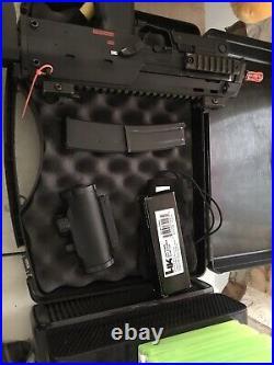 Kwa Mp7 A1 Automatic Green Gas Blowback Airsoft Bb Gun Heckler & Koch H&k