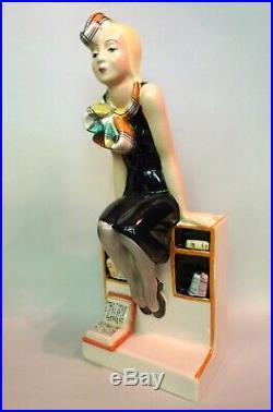 Lenci La studentessa modello H. K. Scavini-Edizione numerata Ceramiche d'Este