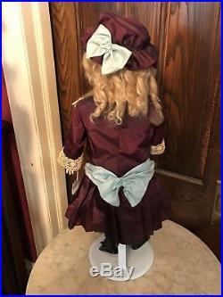 Lt 5 Antique Victorian German Bisque Head Doll Kestner H K 14 171 Germany 26 In