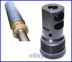 Mündungsbremse Gewinde für ASE UTRA Schalldämpfer spezial für H&K MR308 + MR223