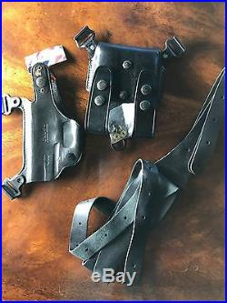 NEW GALCO SS428B Shoulder Holster System, H&K USP Compact. 45, Right Hand, Black
