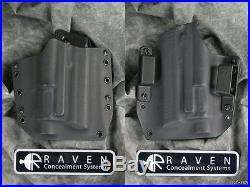 New Raven Concealment H&k Heckler & Koch Hk45 M6 Light Short Shield Holster