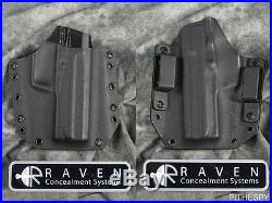 New Raven Concealment H&k Heckler & Koch Usp 45 Short Shield Phantom Holster