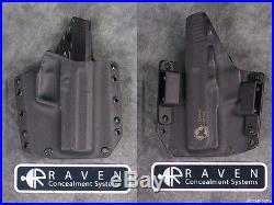 New Raven Concealment H&k Hk Usp Compact 9 40 Full Shield Phantom Kydex Holster