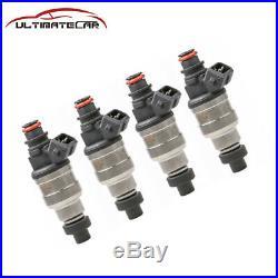 New 4pcs 750CC Fuel Injectors For Honda Civic Accord Acura all D B F H K ZC VTEC