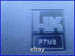Original Factory HECKLER & KOCH HK P7M8 EMPTY Black Plastic Pistol Box