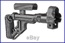 Original UAS-MP5 Fab Defense Black Aluminium Tactical Folding Buttstock for MP5