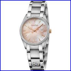 Orologio Donna CK CALVIN KLEIN ALLIANCE K5R33B4H Acciaio Madreperla Rosa