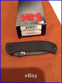 PROTOTYPE H&K 14302BT Mini-Ascender Folding Knife BT2 HK BenchMade Brand New NIB