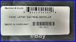 RARE Factory SEALED HK Heckler Koch Mark 23 USP Match Elite Expert Tactical Case