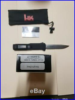 Rare Authentic Heckler and Koch HK 14808 Turmoil, OTF D2 PROTOTYPE AUGUST 2014