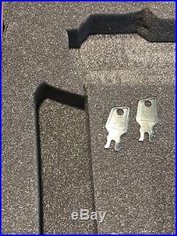 Rare H&K Heckler & Koch HK Euro Wood Grain Aluminum Hard Case Mark23 USP Match