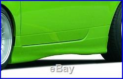 Rieger Seitenschweller schwarz matt für VW Lupo (6X) 98-03/ Seat Arosa (6H)